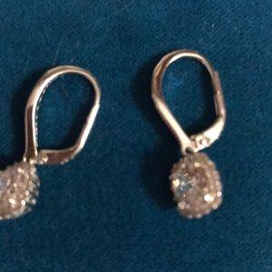 Sterling silver CZ earings